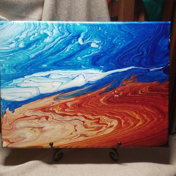 Other - Original Acrylic Pour Abstract Painting